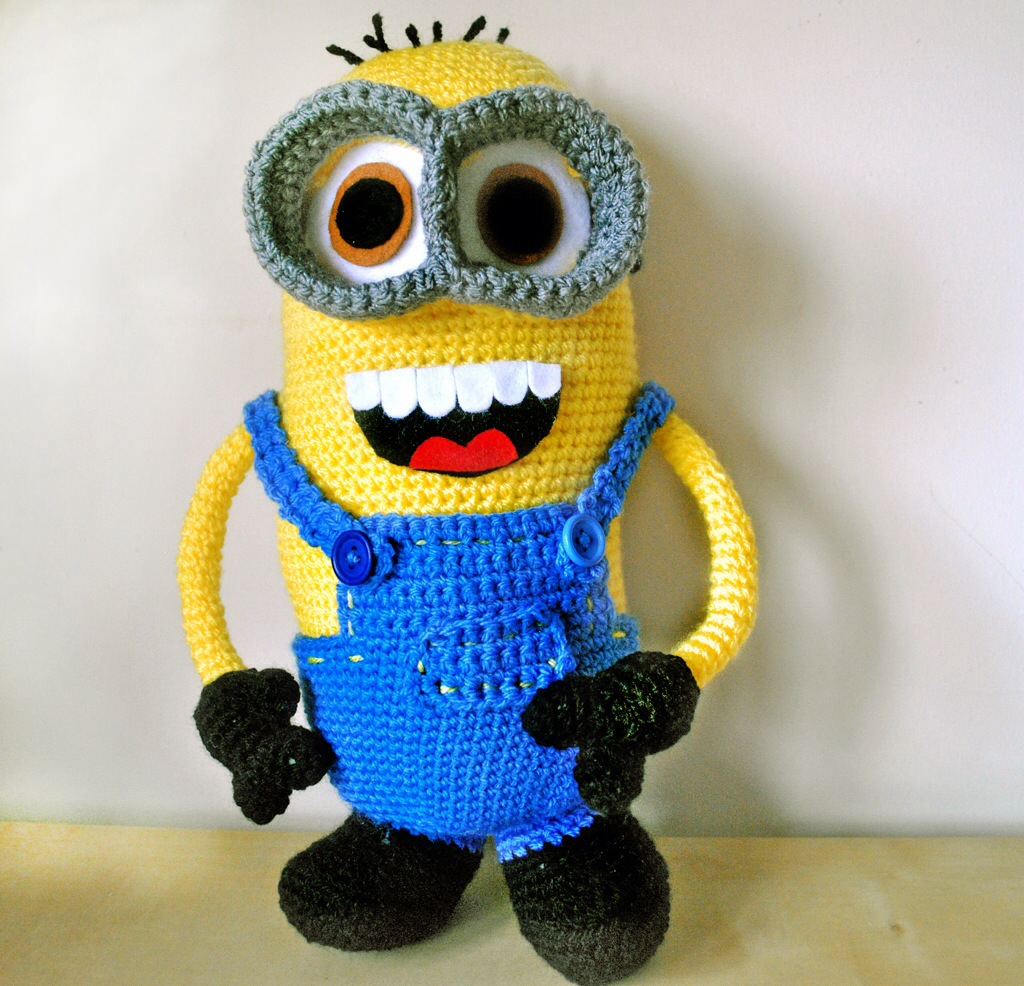 Minion Dave Amigurumi : Who s HAPPY NOW?Minion Dave deffo is? Blog about crochet ...